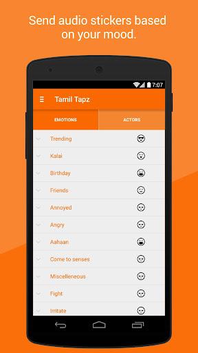 Tamil Tapz - Audio Stickers