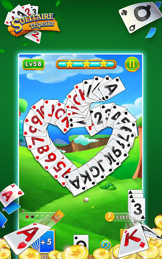 Solitaire Tripeaks - Free Card Games modavailable screenshots 1