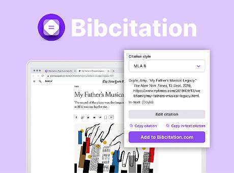 Bibcitation — Automatic Citation Generator