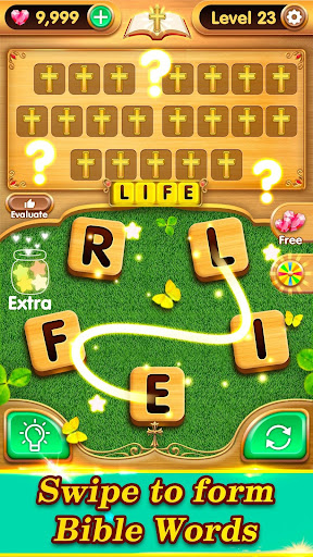 Bible Verse Collect - Free Bible Word Games  captures d'écran 6
