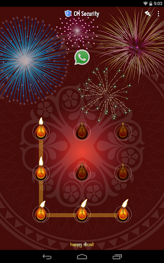 Happy Diwali AppLock Theme screenshot 6