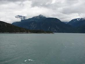 Photo: Taiya Point where Taiya Inlet and Lutak Inlets meet.