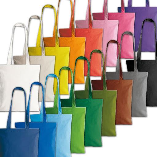 Colourful Long Handled Cotton Shopper