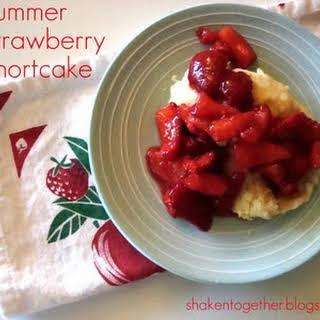 {taste This} Summer Strawberry Shortcake.