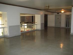 Photo: Mezzanine outside the former Logan ( Ballroom)  Room, Penn Altoona, PA.  Photo by Scott Cessna.