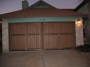 Photo: Wood Free Door installed. This door is Factory paintned in Walnut