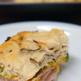 Ham, Turkey, Broccoli and Cheese Casserole - A simple family meal #ad @Walmart #BeyondTheSandwich