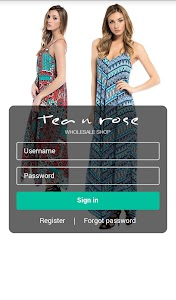 Tea n Rose Wholesale screenshot 0