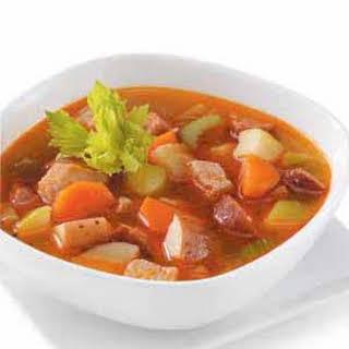 Vegetable Pork Soup.
