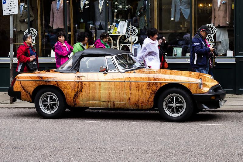L'auto di legno di Erre-Gi