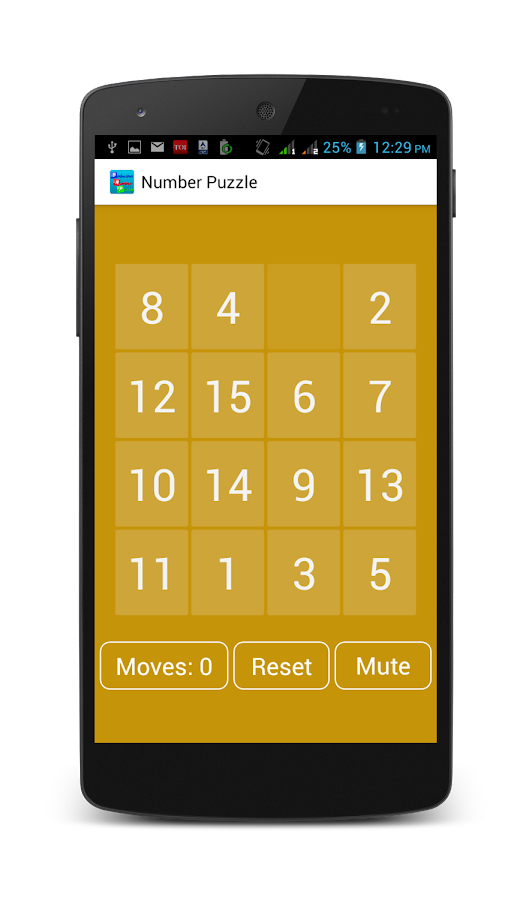 Bodacious Number Puzzle- screenshot