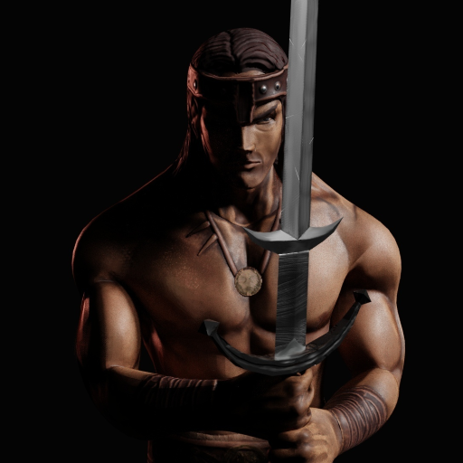 Barbarian. Old Scroll - 3D Action RPG