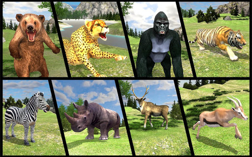 Real Jungle Animals Hunting - Best Shooting Game apkpoly screenshots 5