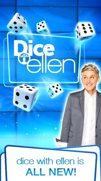 Dice with Ellen Android App Screenshot