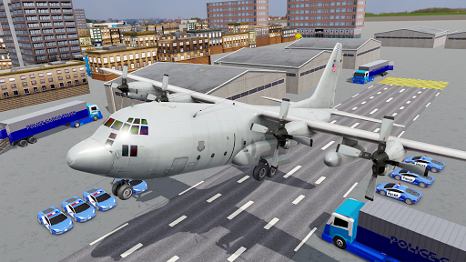 US Police Transporter Plane Simulator 2.1 screenshots 4