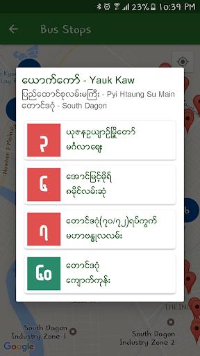 Yangon City Bus (YBS) 1.2.5 Screenshots 7