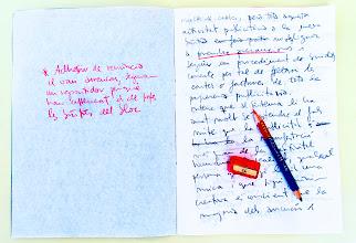 Photo: reescriure és la part més difícil d'escriure, però escriure és reescriure sense dubte