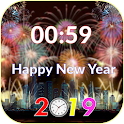 New Year Countdown : Countdown to New Year 2019 icon