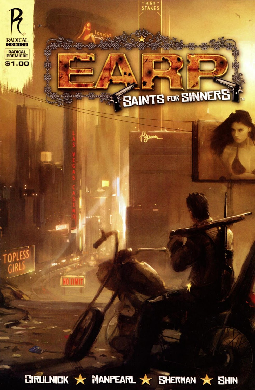 Earp - Saints for Sinners (2010) - complete