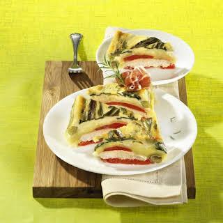 Mozzarella and Vegetable Casserole.