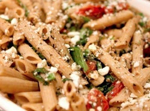 Herbed Spinach Pasta