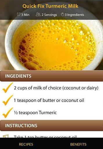 Turmeric Drink Recipes screenshot 3