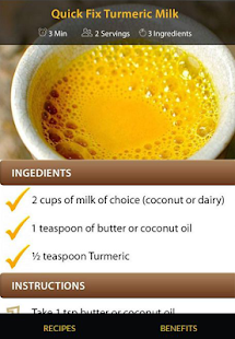 Turmeric Drink Recipes for Weight Loss - náhled