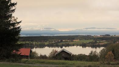 Photo: Oviksfjällen från Ösakurvan i Ås
