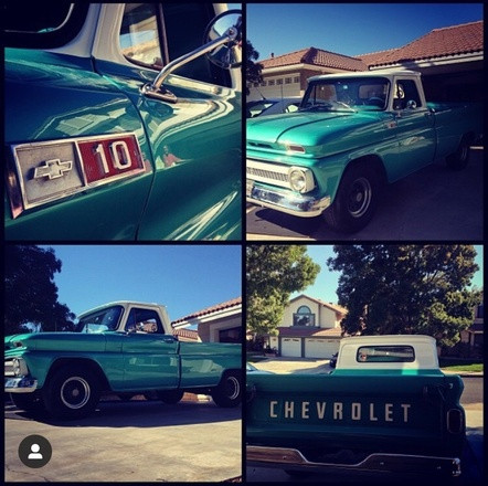 1965 Chevy Truck Hire CA