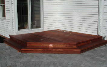 Photo: Mahogany Decking http://northernlightslandscapecontractors.com