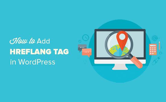 Cách thêm thẻ hreflang trong WordPress