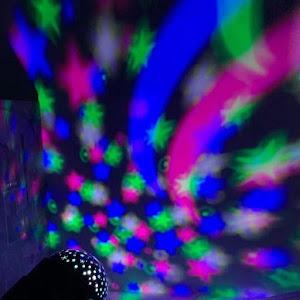 Proiector rotativ LED RGB cu telecomanda