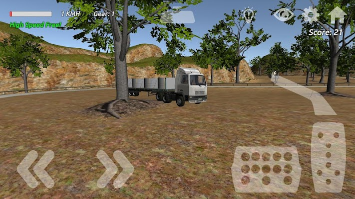 Truck Simulation & Race III 3D - screenshot