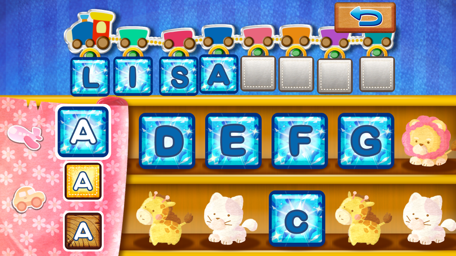 English Cats - learning words- screenshot