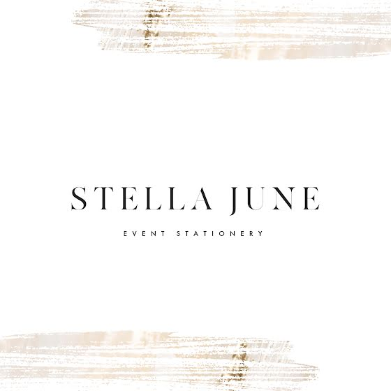 Stella June Stationary - Logo Template