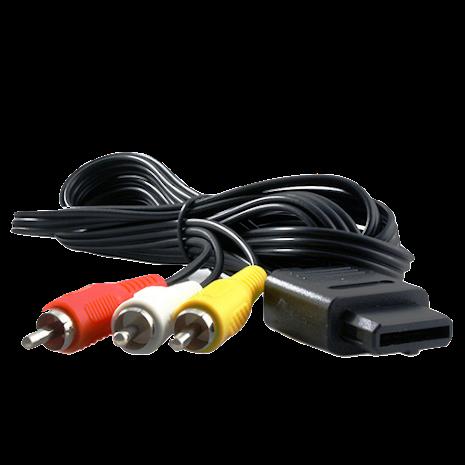 N64 AV Scart Cable New