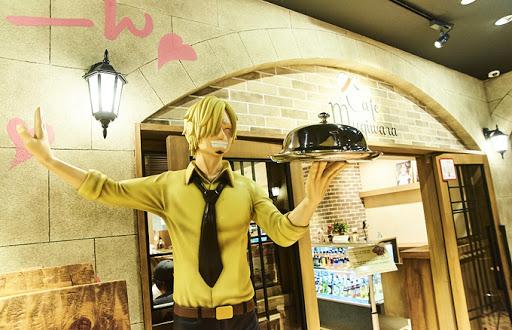 La cafetería Mugiwara lugar recomendado a visitar en Tokio