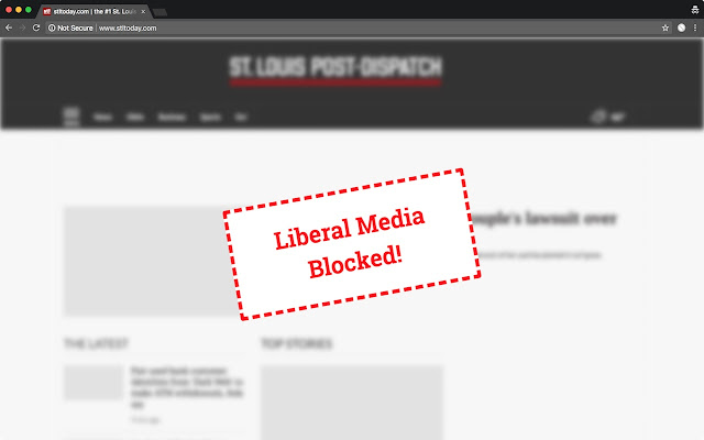 Liberal Post-Dispatch Blocker