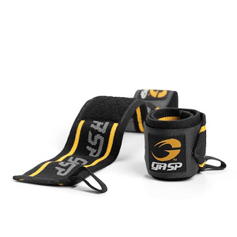 GASP Wrist Wraps 18'' Black/Yellow