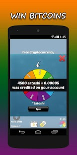 Free Bitcoin - Earn Cryptocurrency - náhled