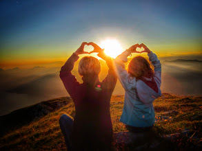 Photo: We love Mount Baldo in Italy  #lagodigarda  #sunsetphotography