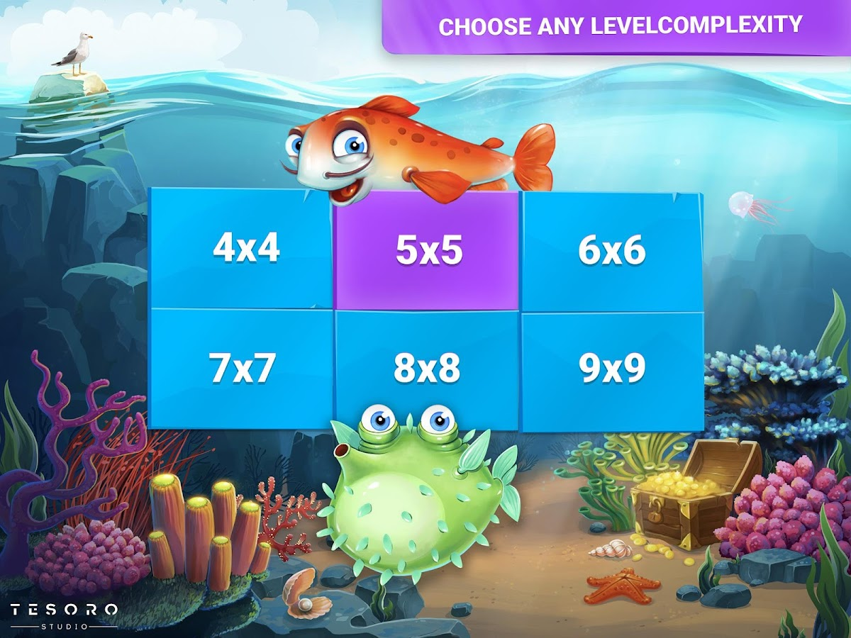 Fish Sudoku - cute puzzle- screenshot