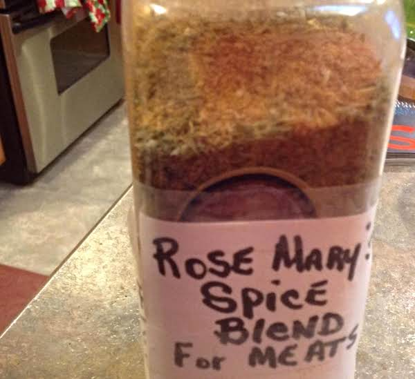 Rose Mary's Spice Blend For Meats Recipe
