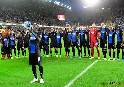 Le Club de Bruges pourra compter sur ces trois joueurs contre l'Antwerp