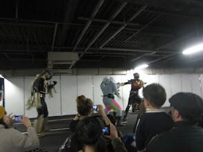 Photo: ホジーネを撃退。