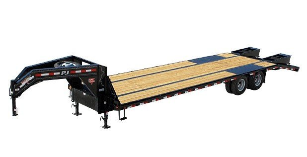 PJ TRAILERS LOW-PRO FLATDECK WITH DUALS