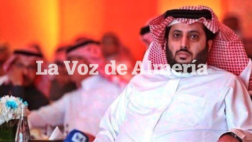 Turki Al-Sheikh está a un paso de comprar el Almería.