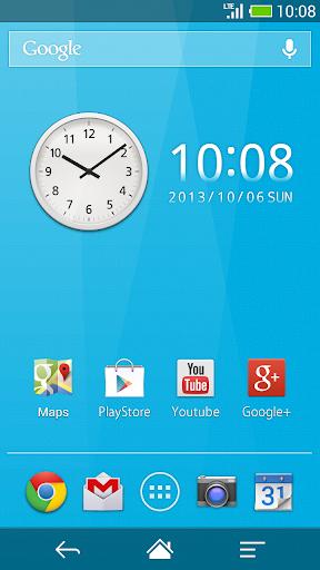 Me Clock widget 2 - Analog & Digital 4.0 Windows u7528 2