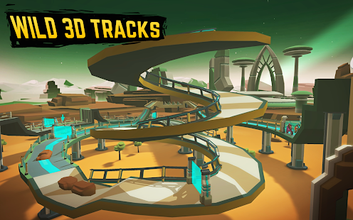 Gravity Rider: Space Bike Racing Game Online for PC-Windows 7,8,10 and Mac apk screenshot 10