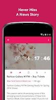 Screenshot of Fashion Week News & Videos